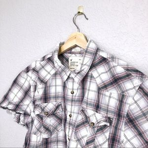 American Eagle Casual Button Up Shirt Size XXL